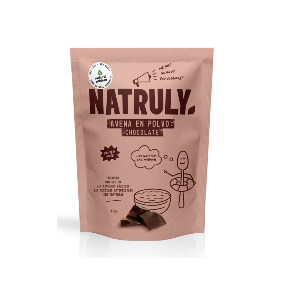 NATURAL AVENA EN POLVO CHOCOLATE BIO 1 KG