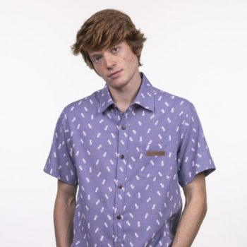 CAMISA MARSHALL BLUE PINAPPLES Hydroponic