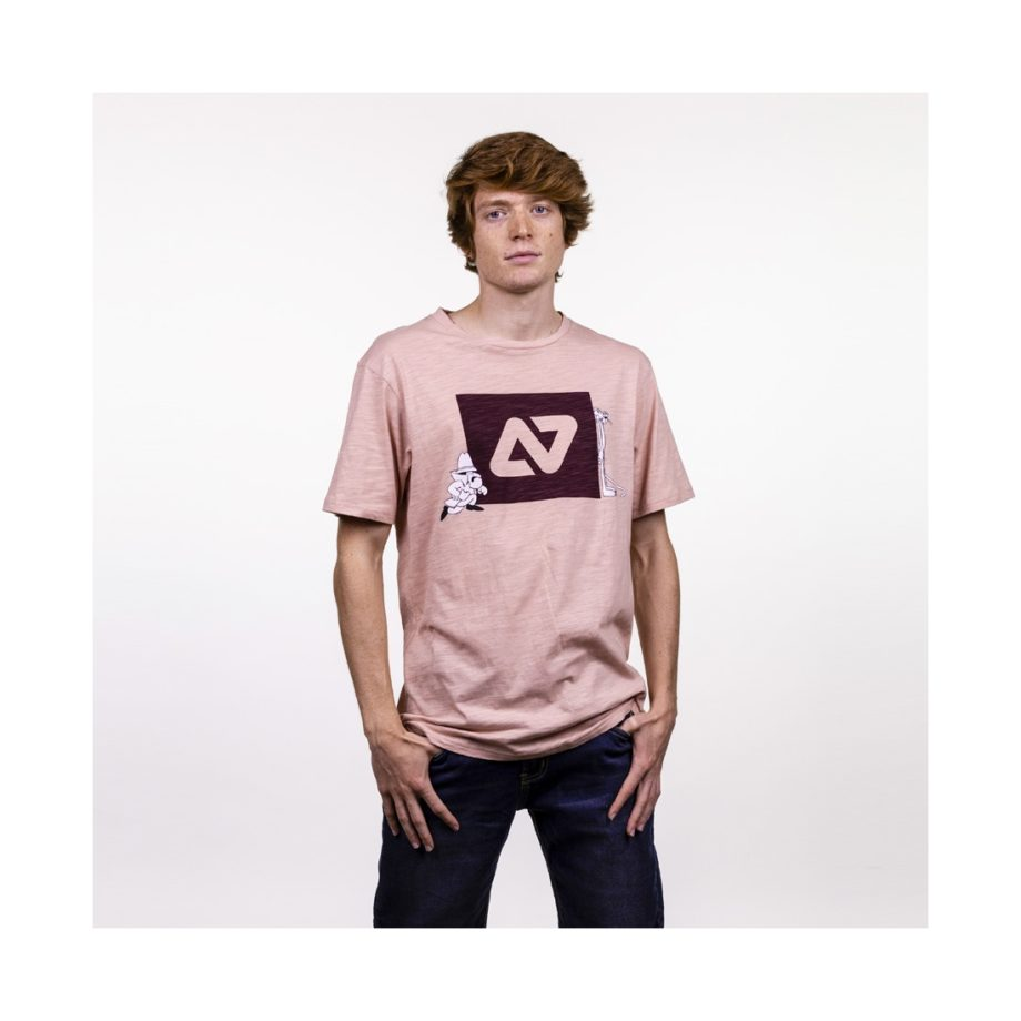 CAMISETA PINK CHASE ROSE CLOUD Hydroponic