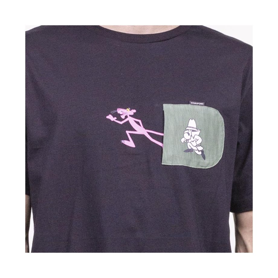 CAMISETA PINK ESCAPE BLACK Hydroponic