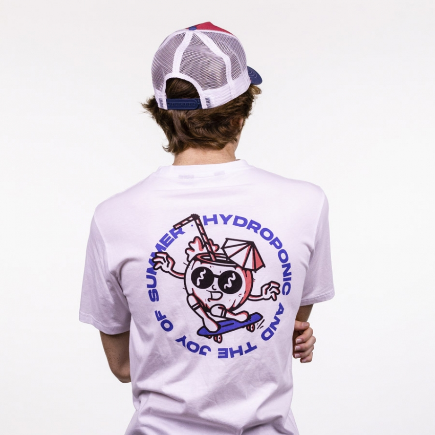 CAMISETA SUMMER OF JOY WHITE Hydroponic